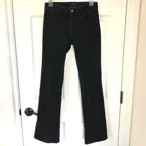 Theory black bootcut jeans size 0